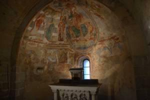 Fresques XIIe siècle, épisode des philosophes