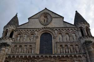 Façade occidentale de l'église