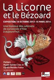 affiche-expo-Licorne et bezoard