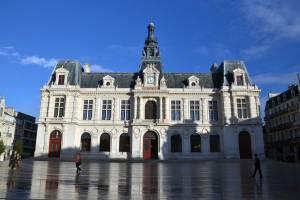 Hôtel de ville de Poitiers. C-Vincent Billaudeau
