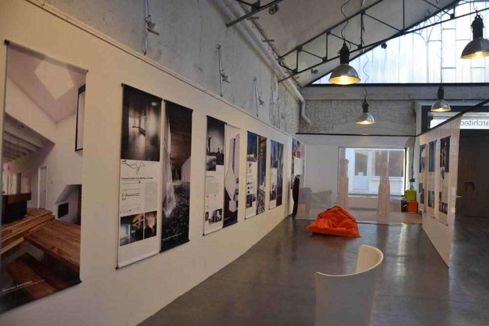 Exposition, maison de l'architecture Poitiers (MDA).