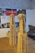 Kapla, atelier enfant, réalisation de tours gratte-ciel à Berlin