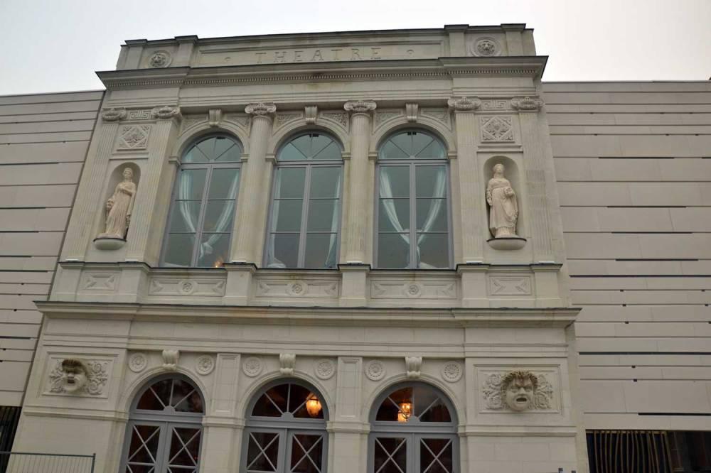 Façade extérieure du théâtre