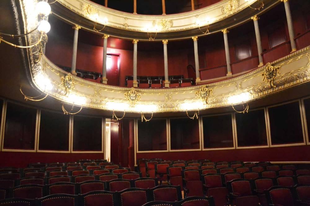 Salle de spectacle du théâtre