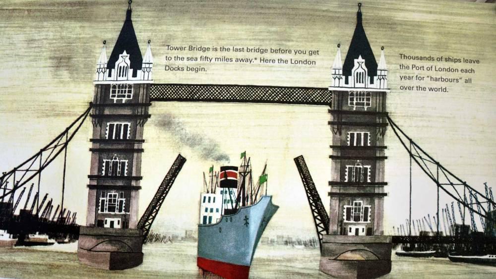 Peinture du Tower Bridge