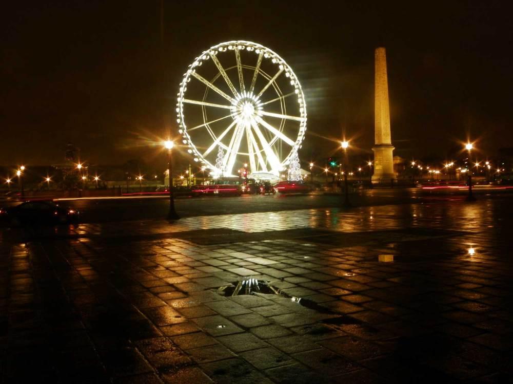 Grande roue et obélisque de la Place de la Concorde