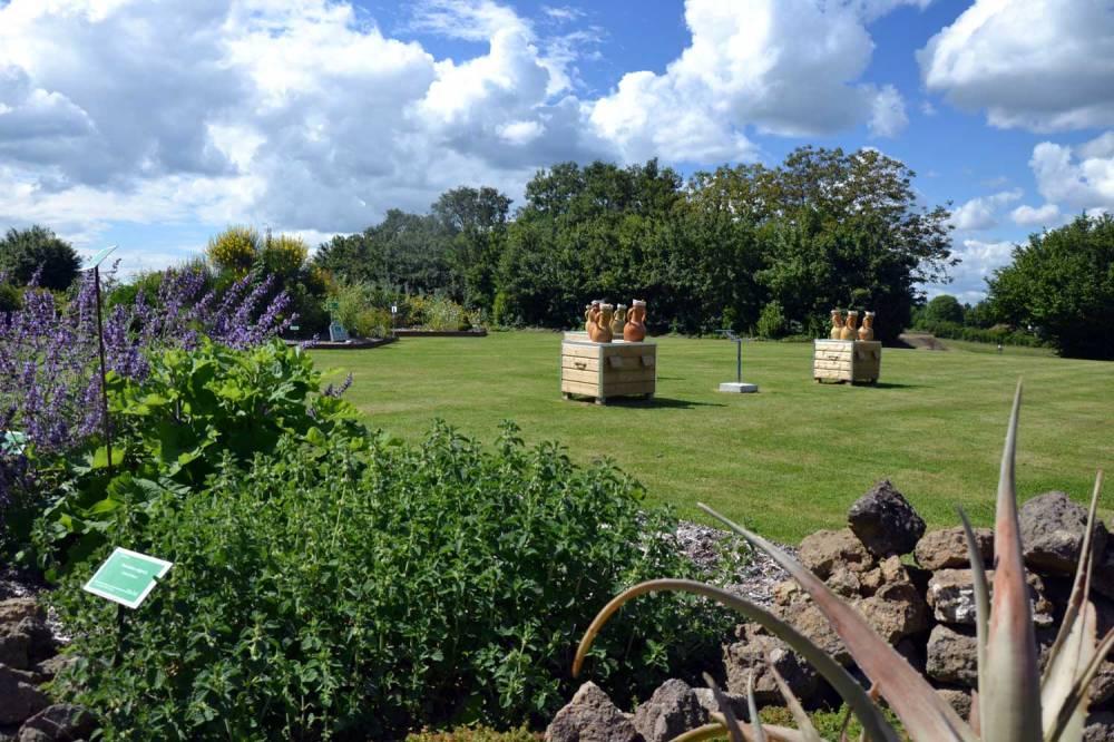 Les jardins, entre botanique et senteurs