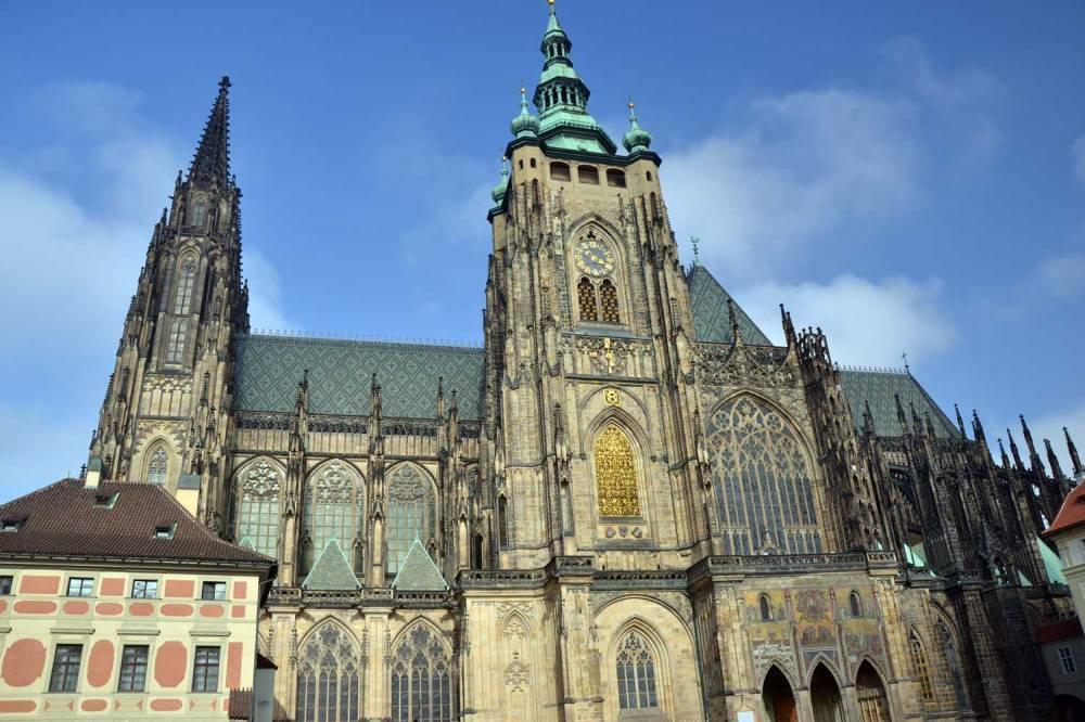 Façade Sud de la cathédrale