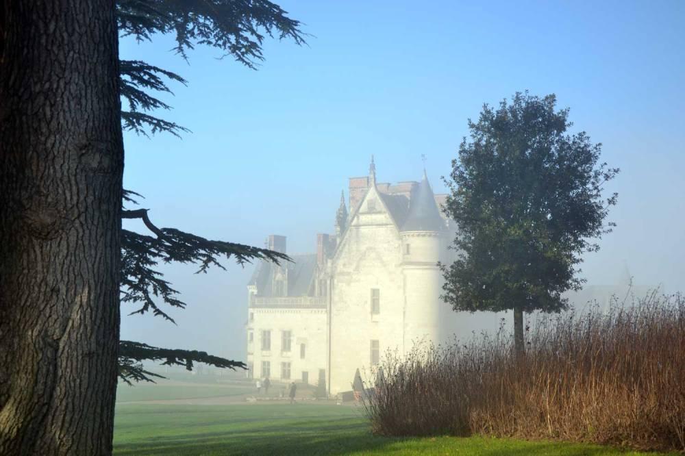 La brume épaisse de la Loire