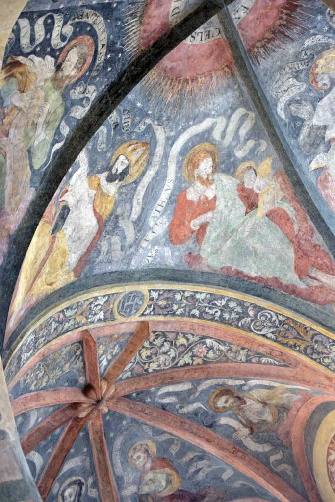 fresques du monastère Saint Georges