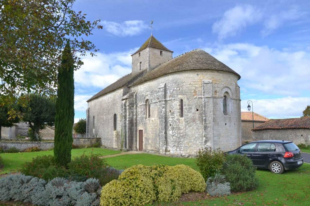 Chevet de l'église de Saint-léger