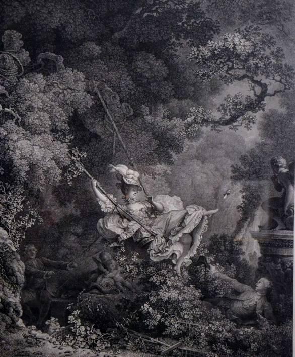 Les hasards heureux de l'escarpolette - 1767