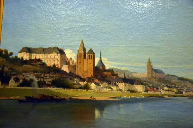Vue picturale de Blois