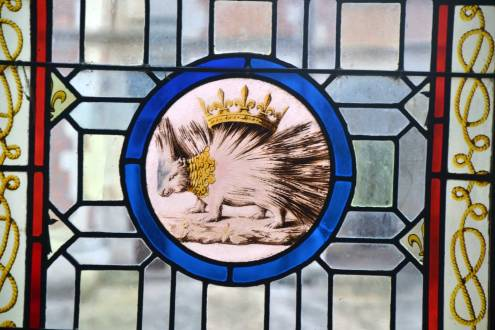 Emblème de Louis XII : le porc épic