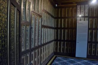 Sudiolo ou cabinet de travail, avec compartiments secrets derrière les cloisons