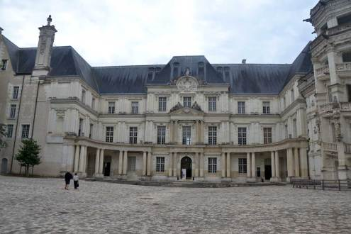 L'aile classique - XVIIe siècle - aile dite Gaston d'Orléans