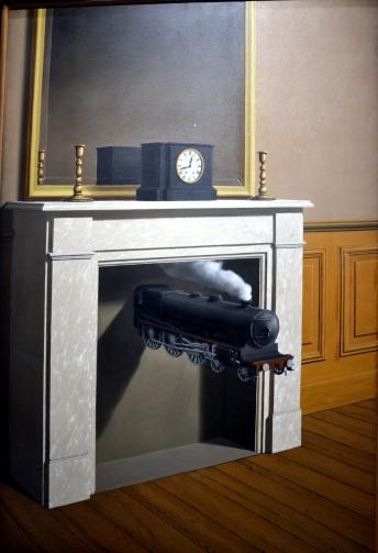La durée poignardée - 147 x 98,7 (cm),