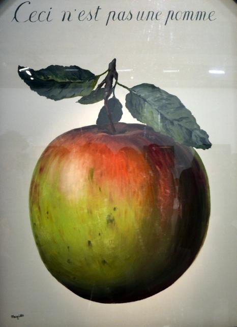 Ceci n'est pas une pomme - 60 x 40 (cm)