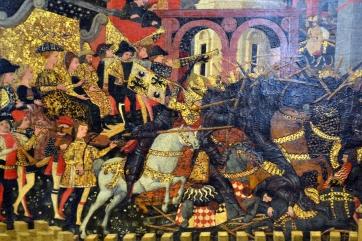Histoire de Camille - tempera sur bois - 1460 (détail)