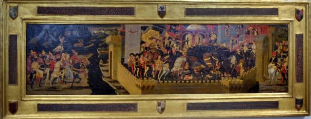Histoire de Camille - tempera sur bois - 1460