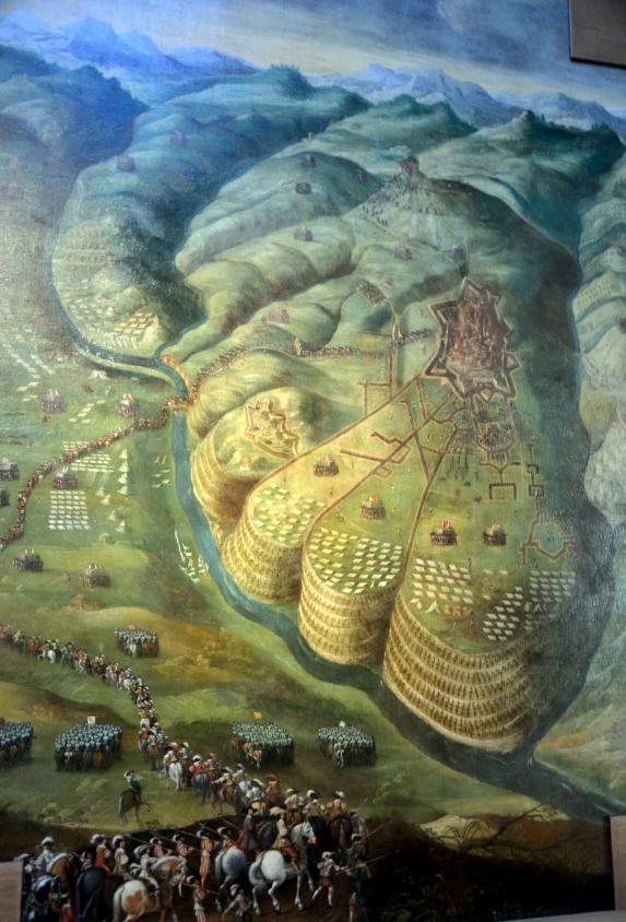 La prise de Privas, France - XVIIe siècle