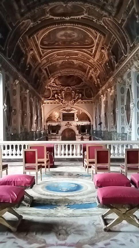 La chapelle du château, depuis la tribune