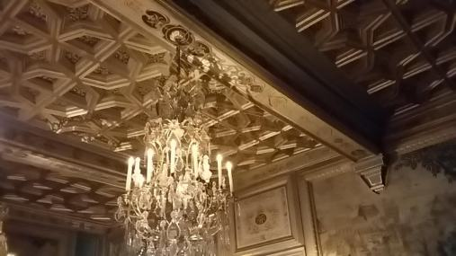 Plafond à caisson