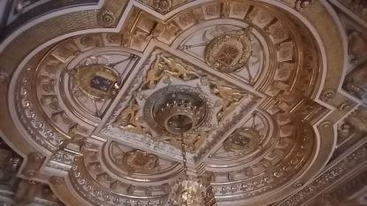 Plafond de la salle du trône de Napoléon