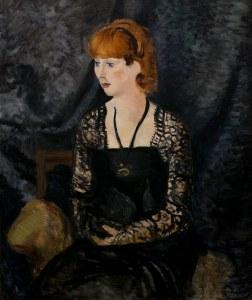 portrait-catherine-hessling-par-derain-1923, national-museum-of-western-art-Tokyo