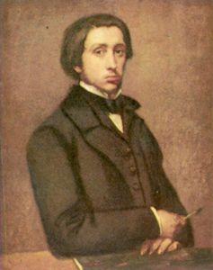 Degas-autoportrait-huile-sur-papier-81x64cm-1855