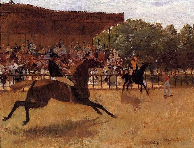 Degas-hippodrome-du-vesinet-faux-depart