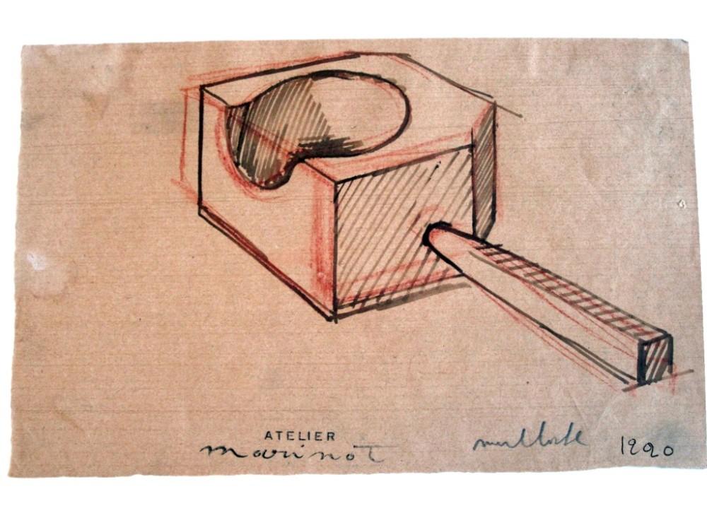 marinot-dessin-outil-du-verrier-1920